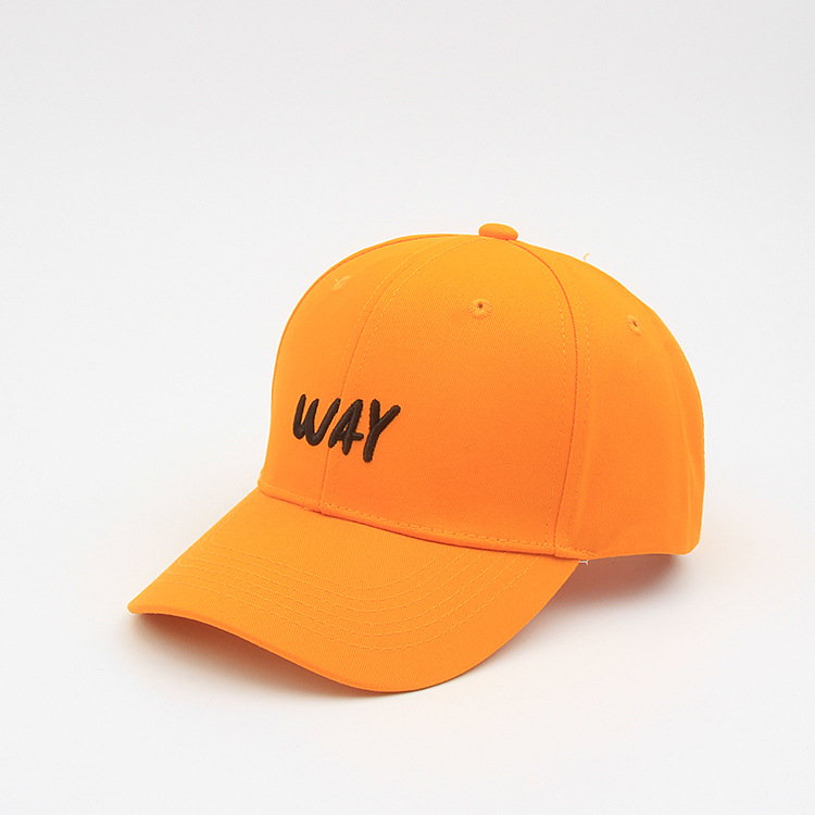 New Way Letter Baseball Cap for Men Women Students Hip Hop Hat Tourism Cap 6 Colors in Men 39 s Baseball Caps from Apparel Accessories
