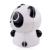 ZhiSheng Panda 2x2 Cubo Mágico Cubo rompecabezas Juguete Desafío-Negro + Blanco
