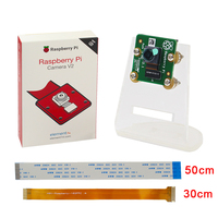 Original Raspberry Pi 3 Official Camera V2 8MP 1080P 720P Camera Acrylic Holder FFC Support Raspberry