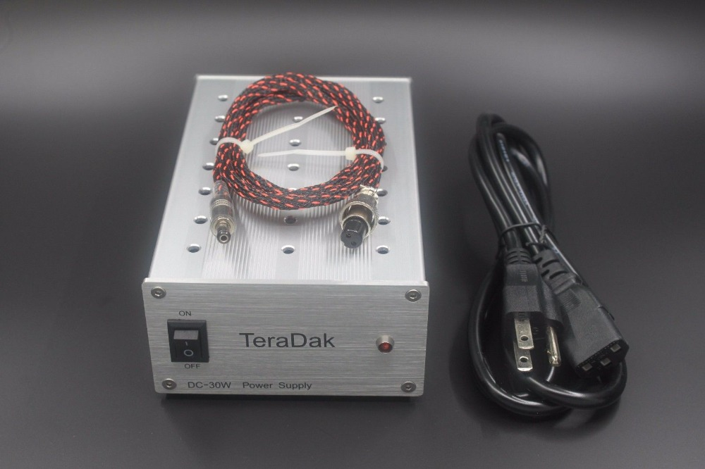 Teradak DC-30W 12V/2A Musical Fidelity V90-DAC HiFi linear power supply musical fidelity m1pwr black