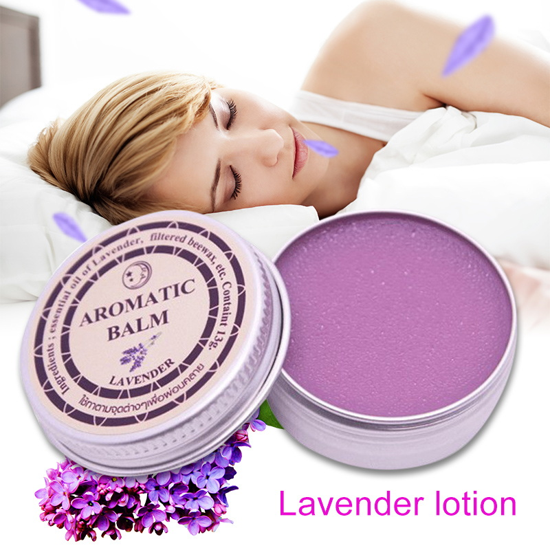 Lavender Aromatic Balm Improve Sleep Soothing Cream Essential Oil Insomnia  Relax Aromatic Balm Fragrances & Deodorants Cream