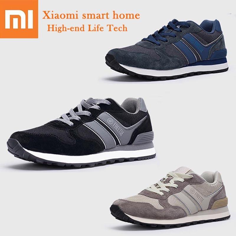 Xiaomi Mijia zapatos deportivos FREETIE 80 zapatos casuales Retro transpirable malla refrescante cómodo soporte estable hombres zapatos de moda-in control remoto inteligente from Productos electrónicos    1