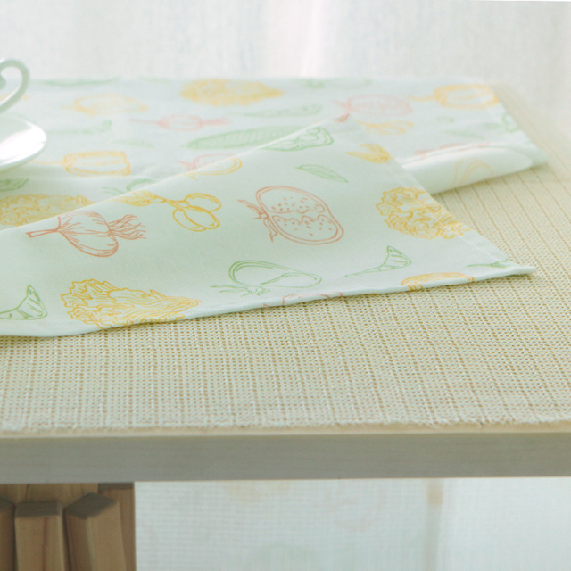Beautiful Tablecloth Non Slip Table Cloth Coffee Desk Mat Mesh Under Mat Carpet  Lining Fashion For
