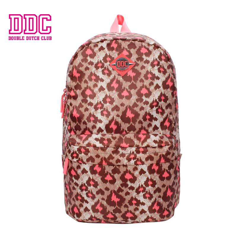 DDC Brand Leopard Backpacks for Teenage Girls School Bags Women Large Capacity Travel Backpack Fashion Laptop Backpack Mochilas 2018 new fashion backpacks for teenage girls large capacity travel backpack women s pu leather backpack school bags casual women