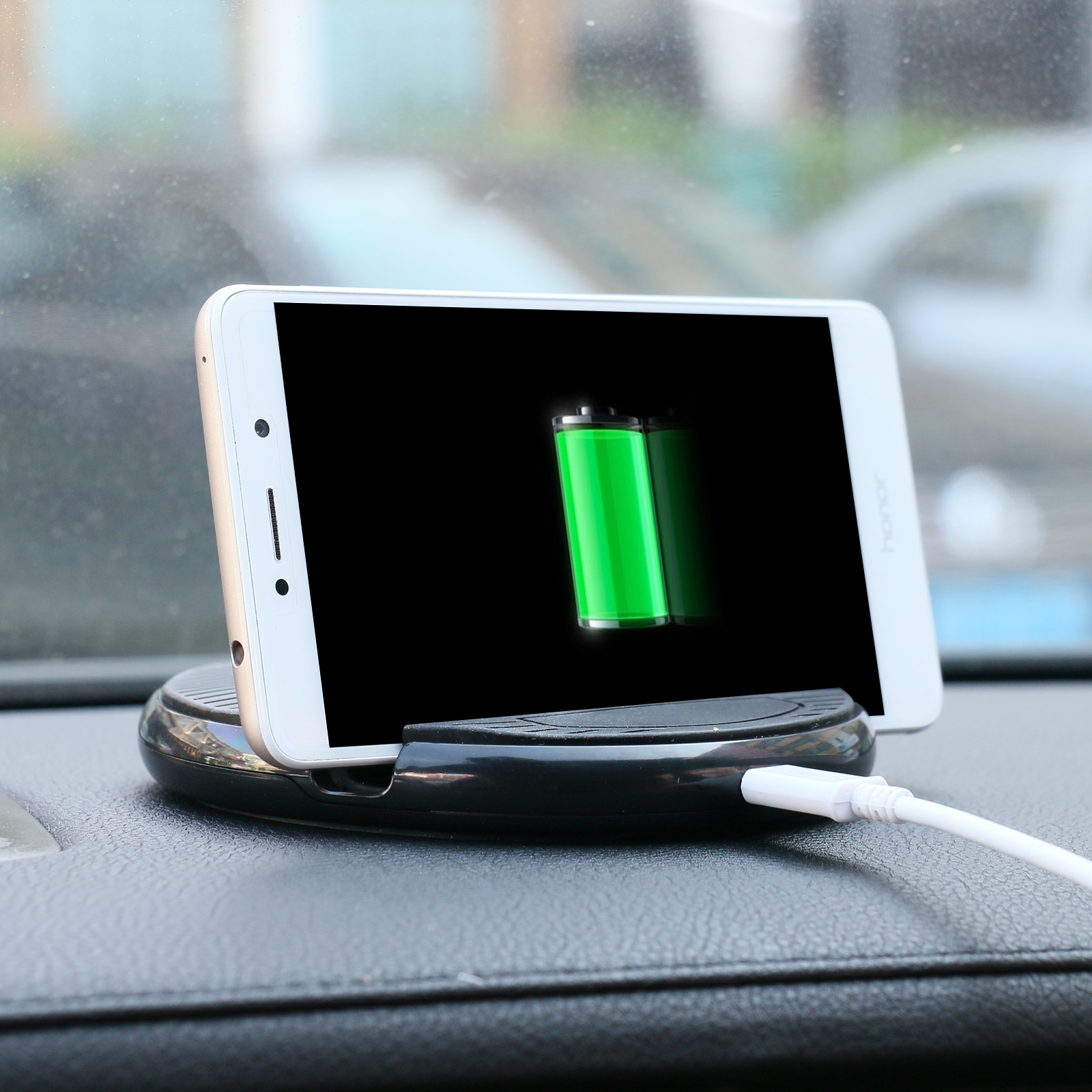 Wireless Car Charger Auto Magnetic Holder Mount for iPhone 8 X Samsung Galaxy S6 S7 S8 Plus QI Air Vent Stand 5V/1A Charging 10w car vent qi wireless quick charger stand for iphone android phone
