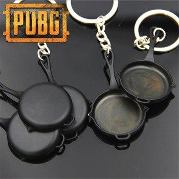Брелок сковородка черная PUBG Playerunknown's Battlegrounds