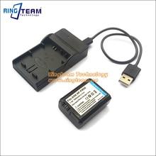 2-в-1 npfw50 np-fw50 батареи и usb зарядное устройство для sony alpha nex и SLT Камеры А33 A55 A37 A7 A7R A3000 A6000 A6300 A6500 A7000