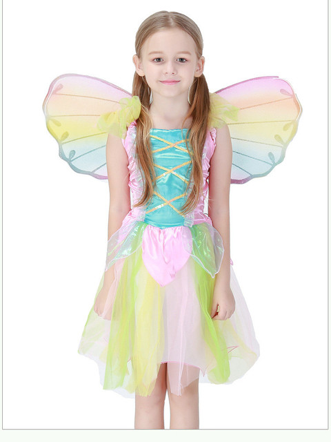 ngel encantador de arco iris falda Halloween nios amor Live