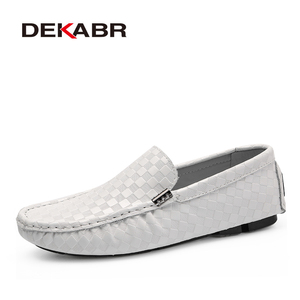 Image 5 - DEKABR High Quality Mens Shoes Fashion Comfortable Loafer Driving Shoes Boat Brand Flats Casual Shoes Men Large Size 38~47