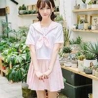 Neue Mode Akademismus Schuluniformen Top + Rock Anzug S-XXL Japanischen Schulmädchen Uniform OY-G3241