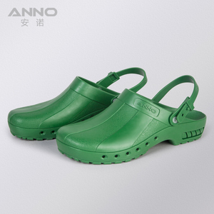Image 4 - ANNO Medical clogs with Strap Nurse Safety Slippers Anti Static Surgical Foot wear for Women Men Grip Non slip Shoes