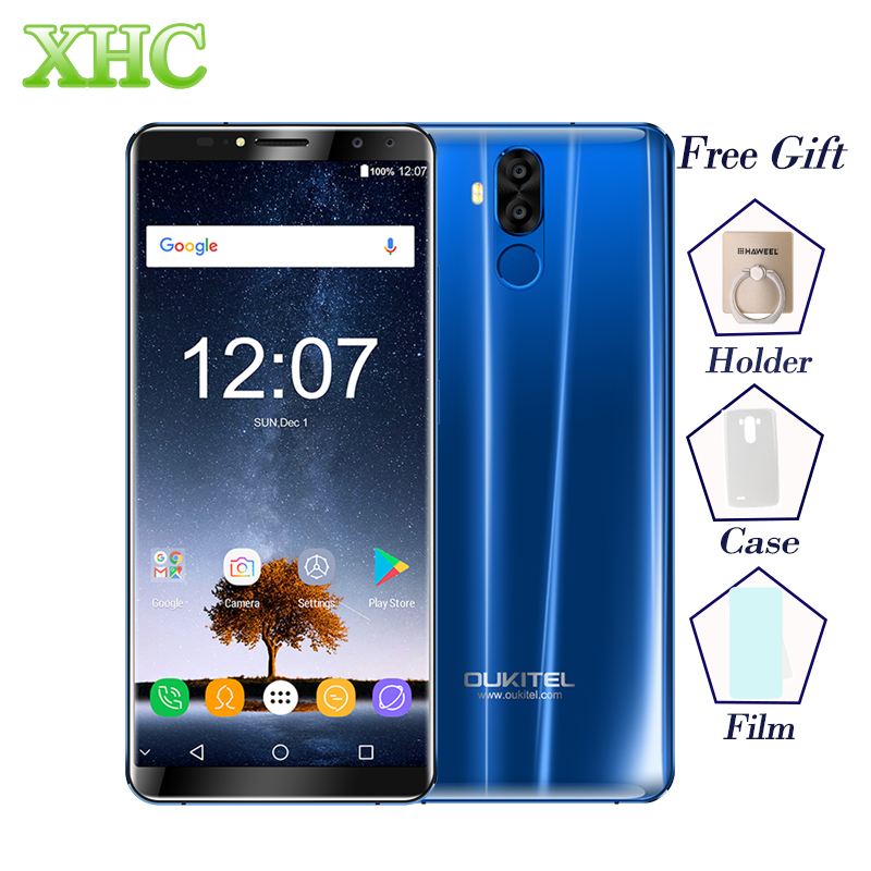 OUKITEL K6 6GB 64GB 6.0'' FHD Display Smartphones MTK6763 Octa Core 6300mAh Fast Charge Face ID 16MP NFC Dual SIM Mobile Phones