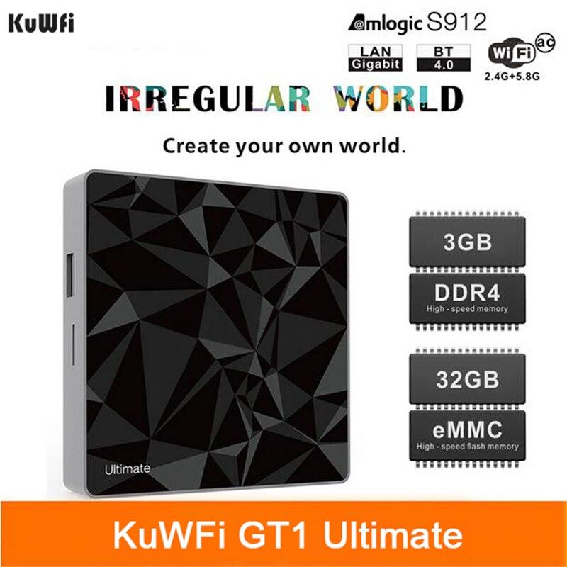 kuwfi tv box android set top box ddr g g google amlogic