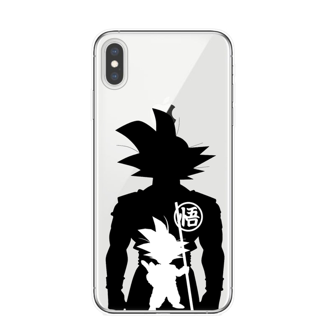 Dragon Ball Super Transparent Case Cover For iPhone Models
