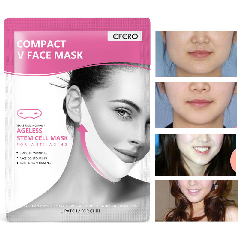 Women V Face Chin Masks Lifting Slimming Cheek Smooth Wrinkles Cream Face Neck Masks HJL2019