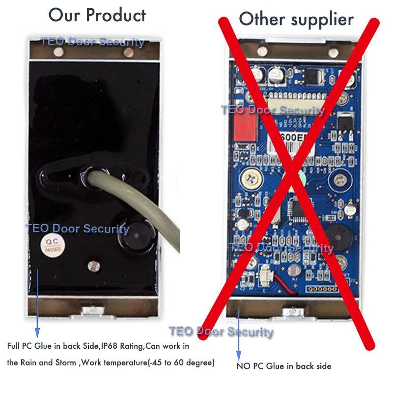 IP68 Vodootporan na otvorenom Koristite metalni čitač nehrđajućeg - Sigurnost i zaštita - Foto 6