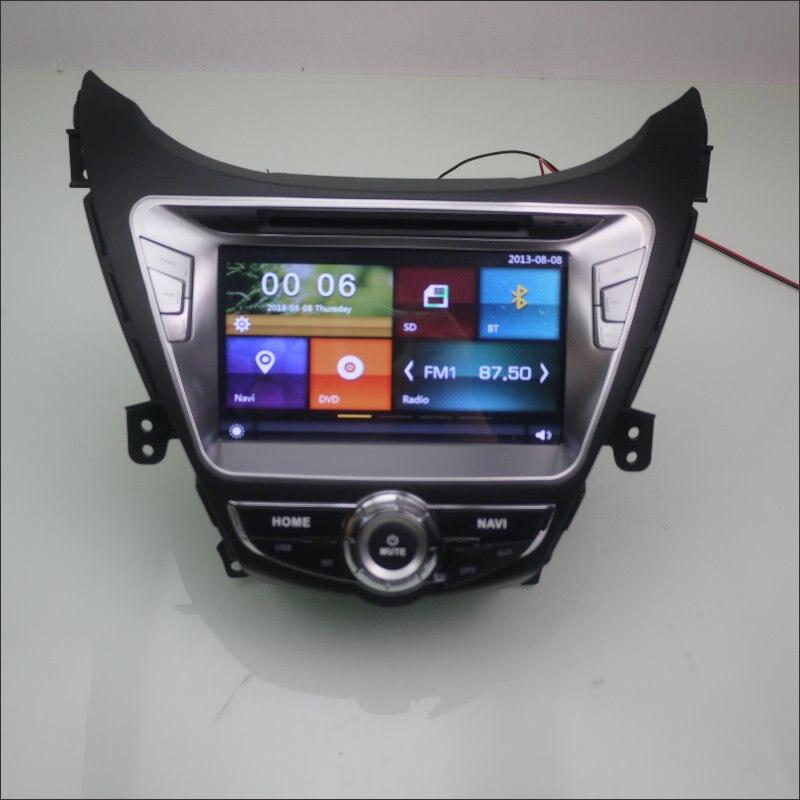 For Hyundai Elantra Avante 2010 2015 Car Radio CD DVD Player Amplifier HD Screen GPS Nav