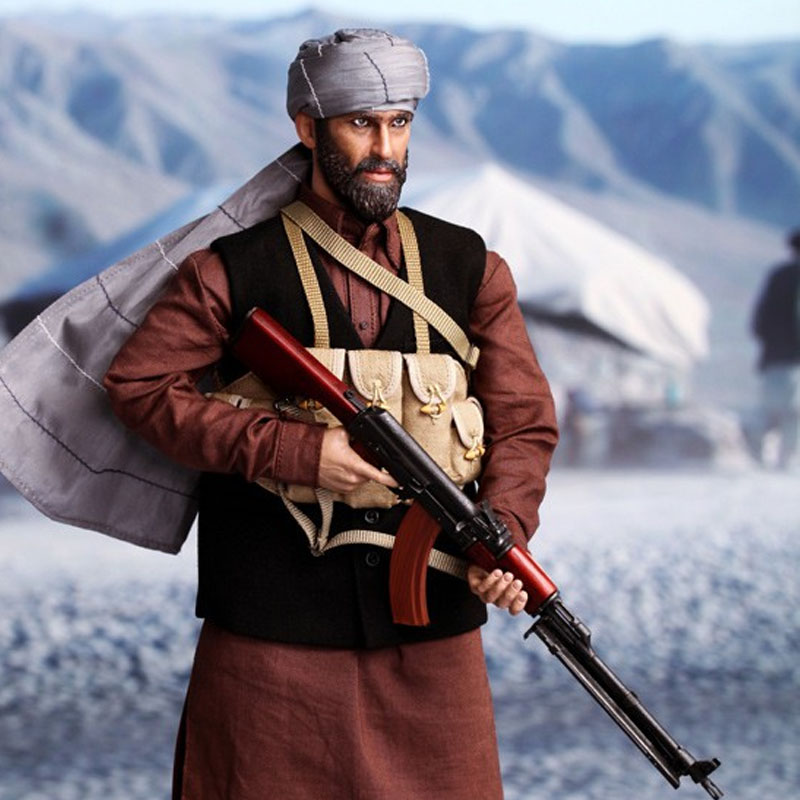 Afghan War Pashtun Warriors Assad 1/6 Soldiers Military Action Figure Models Suits I80111 should child soldiers be punished for war crimes