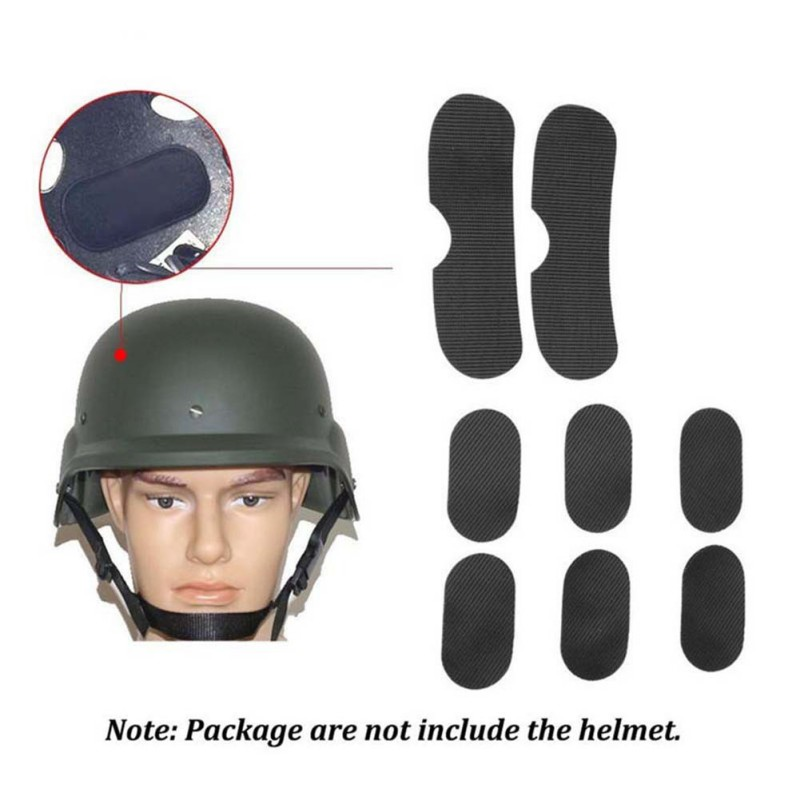 Outdoor Tools Helmet Pads Eva Eco-friendly Quick Dry Protective Cushion Replacement Accessories For Fast Helmets Loop Fastener Pottery & Glass