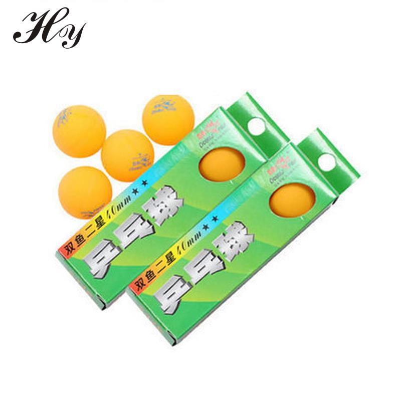 Venta al por mayor de Orange Table Tennis Balls Plastic 1 Box 3 Unids PingPong Ball 40mm Celluloid Tennis Table Ball Training PingPong Ballen