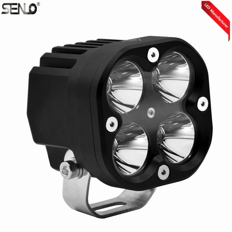Offre spéciale lumière LED waterproof 7 pouces phare LED conduite lumière LED ampoules de voiture 60 w Kit pour Jeep Wrangler phare feux de croisement