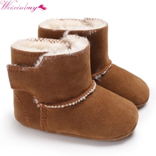 Newborn Baby Boys Girls Boots Snow Boot Infant Toddler Shoes Winter keep Warm Booties Booty Crib Babe Soft Sole