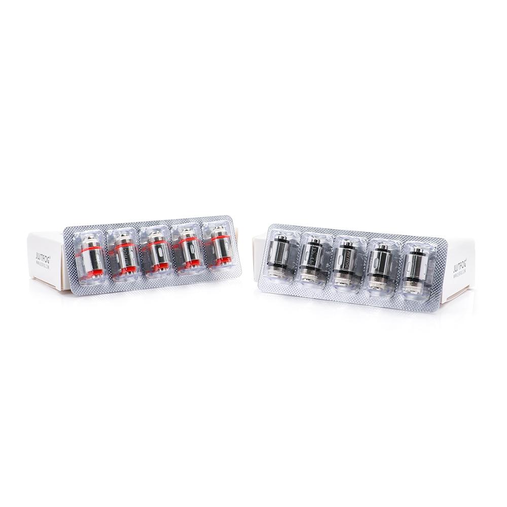 50 PCS/lot Bigsale JUSTFOG Q16 P16A bobine 1.2ohm et 1.6ohm bobine de coton organique japonais pour Q16 Q14 S14 G14 C14 kit de démarrage - 6
