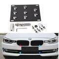 Chegam novas Amortecedor Dianteiro Gancho de Reboque License Plate Bracket Suporte De Montagem para BMW E31 E36 E38 E46 E52 E53 E60