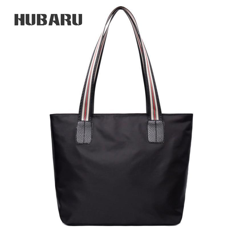 HUBARU Fashion Large Capacity Shoulder Bag Women Shopping Bag Ladies Casual Tote Top-Handle Tote High Quality Oxford Handbag