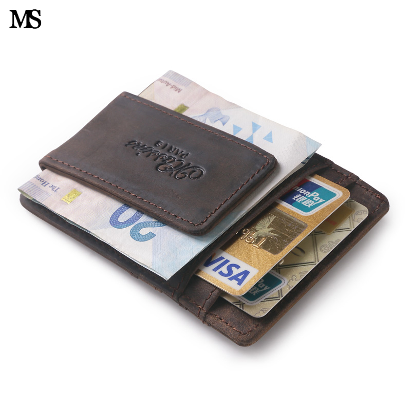 ms hot sell men genuine leather wallet business casual. Black Bedroom Furniture Sets. Home Design Ideas