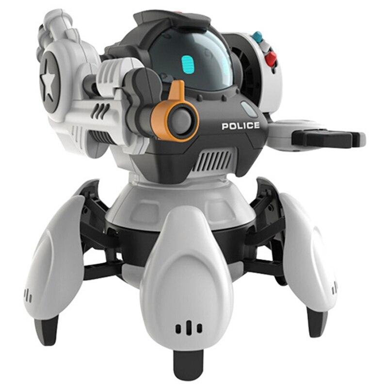 Robot intelligent geste 2.4 GHz télécommande Robot peut chanter et danser Version anglaise programmation intellectuelle électrique RC jouet