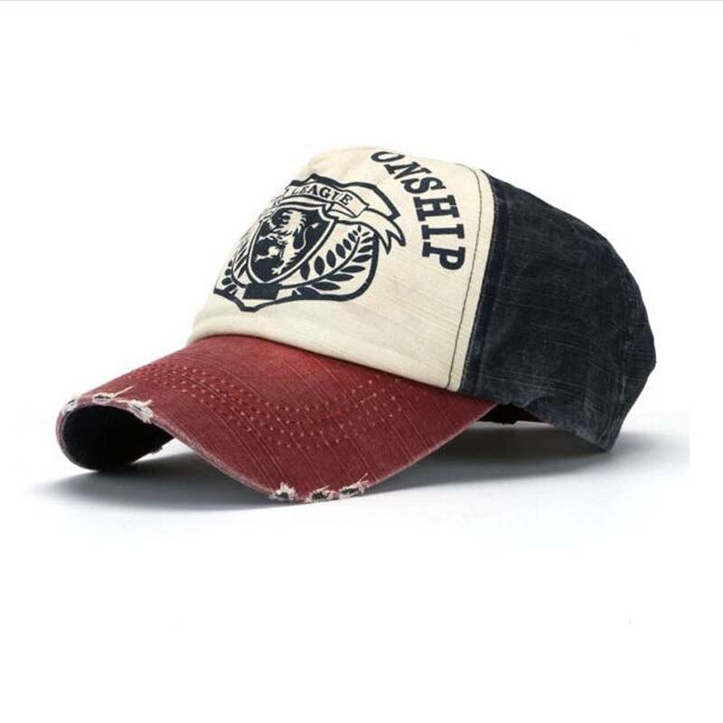 Prix pour 1 pcs 2016 Nouveau Le Lion Logo Casquettes de Baseball De Mode chapeau Pour hommes Et Femmes snapback Antique os D'été casquette de baseball Chapeau de Soleil