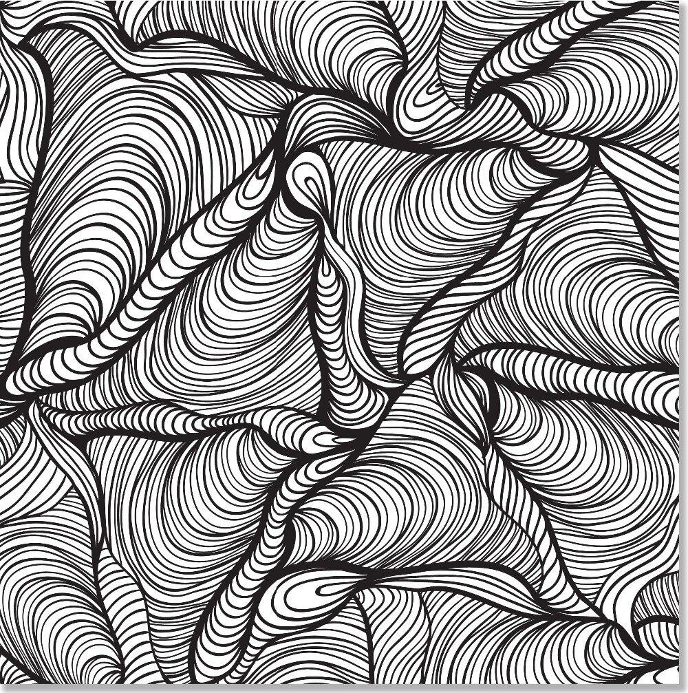 Doodle diseños de artista de Coloring Book ( inglés ), antiestrés ...