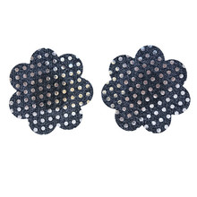 New Sexy experience 50 pairs (100Pcs) / flower Pasties Nipple Covers 5 colors hot sell