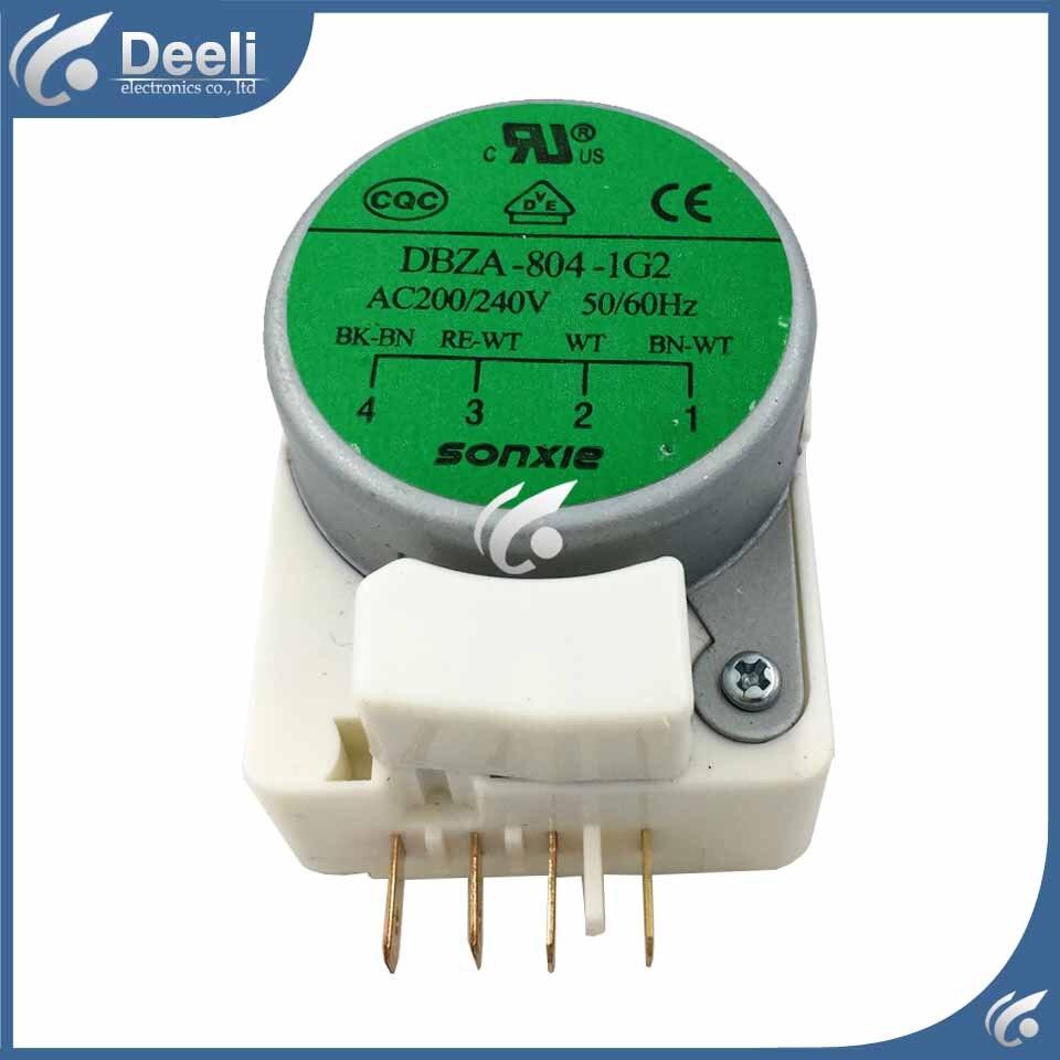 100% new Good working for refrigerator Defrosting timer DBZA-804-1G2 220V 50HZ Defrost Timer defrost timer tmdex09um1