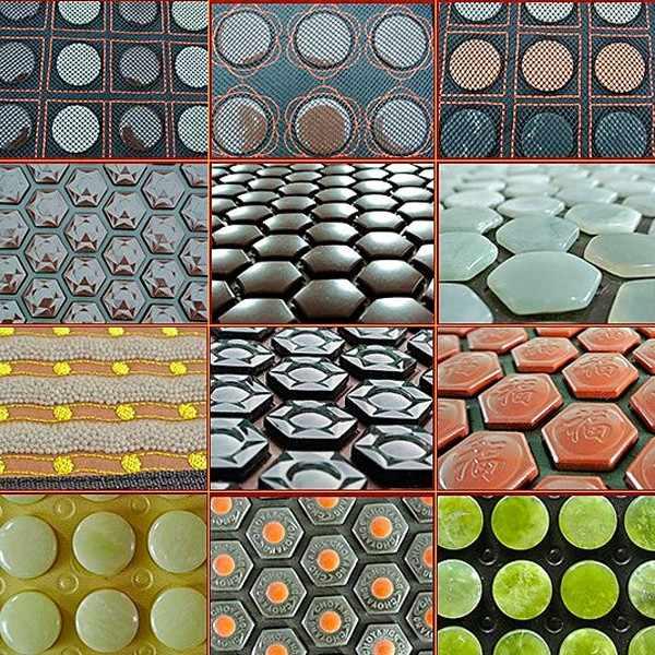2015 la mayoría de las ventas caliente esterilla calentada masaje germanita piedra cojín Jade nuevo cojín de masaje de calefacción 50 cm X 150 cm