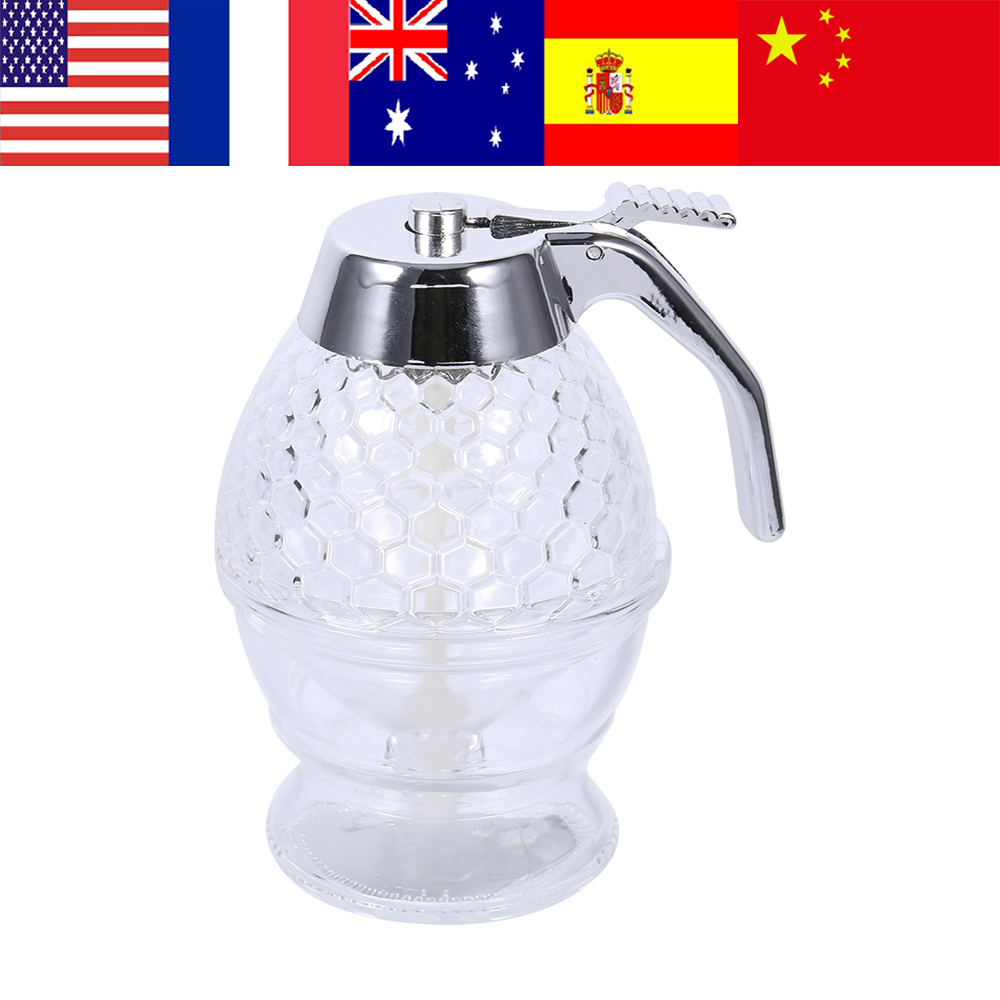 Ml Acrylic Honey Dispenser Transparent Shake