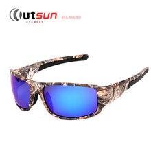 OUTSUN 2016 New Top Sport Driving Fishing Sun Glasses Camouflage Frame Polarized Sunglasses Men/Women Brand Designer De Sol