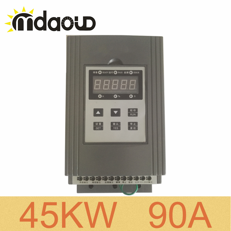 380V three phase 45KW/90A soft starter for three phase AC asynchronous motor squirrel cage motor380V three phase 45KW/90A soft starter for three phase AC asynchronous motor squirrel cage motor