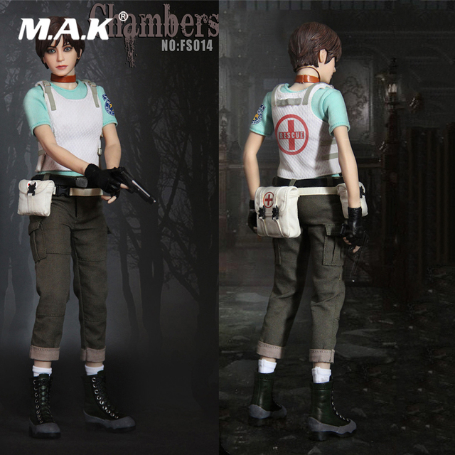 For Collection SW Ourworld Resident Evil Rebecca Chambers FS014 1/6 Scale Model Figure Toy Collectible Toys for Fans Gift