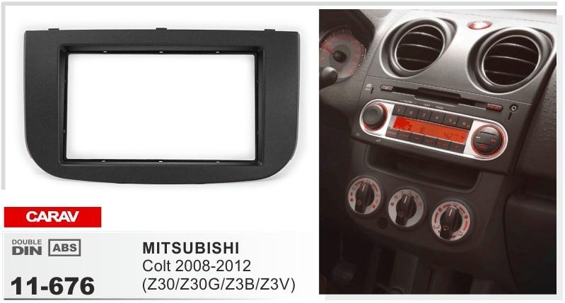 Cadre plus android6.0 lecteur dvd de voiture pour Mitsubishi Colt 2008-2012 z30 z30g z3b multimédia stéréo radio magnétophone headunit