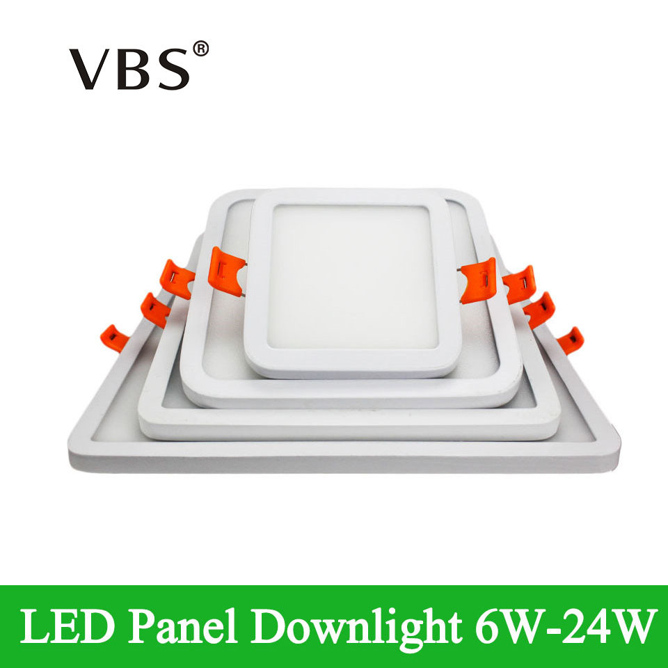 High quality with cheap price led panel light 36w 600x600 ac85 265v - 6w 12w 18w 24w Led Downlight Dimmable Ultral Thin Ceiling Lights Ac85 265v China