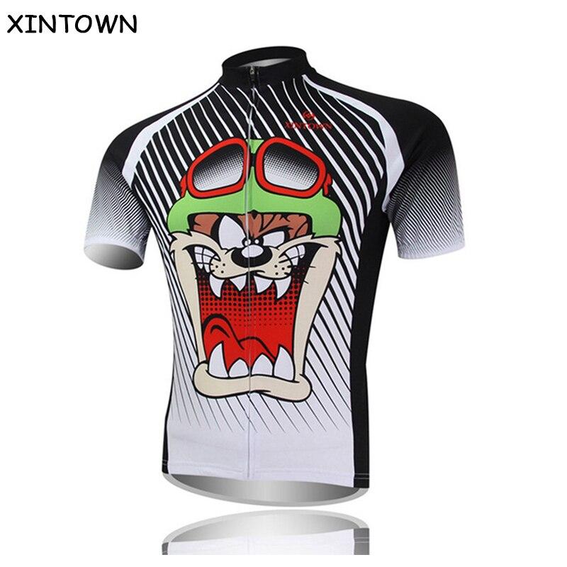 Prix pour XINTOWN Hommes de Vélo Jersey Vélo de Montagne Jersey T-shirt Vélo À Manches Courtes Sportswear Racing Vélo Vélo Vêtements