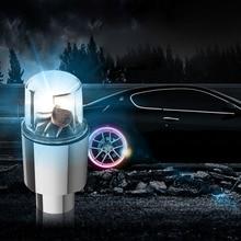 Automobiles Tire Light With Colorful Wheels Light Sensation Wheel Lights Decorative Car Light Auto Accessorie цены