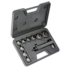 10Pcs Heavy Duty Hollow Punch Kit Set Gasket Leather Rubber Punching Diy Leathercraft Perforating Tools Herramientas Para Cuer