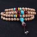 Tibetan 108 beads Bodhi seeds high density prayer beads with sardonyx spaver Buddha pendant wholesale New arrived! ib3432
