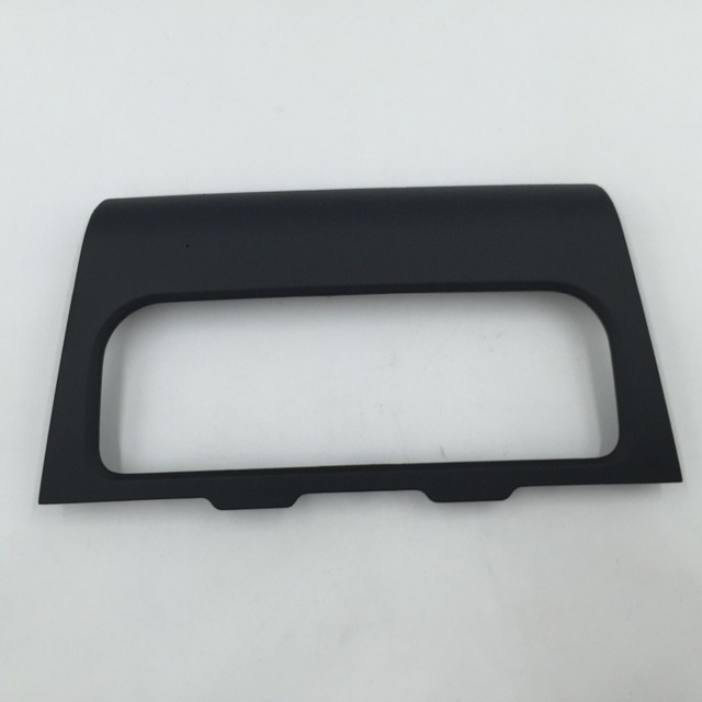 for VW Golf MK6 Jetta 6 Black Color Air Conditioning Frame Middle Escutcheon Center Decorative Panel CD Box 5KD 819 157