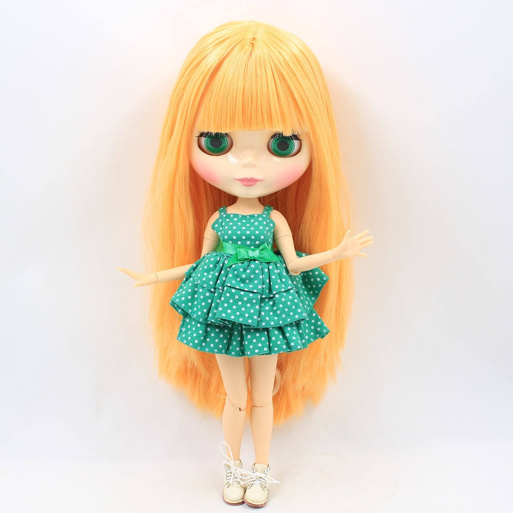 ICY Nude Factory Blyth Doll Series No 260BL0559 Mango hair white skin Joint body Neo