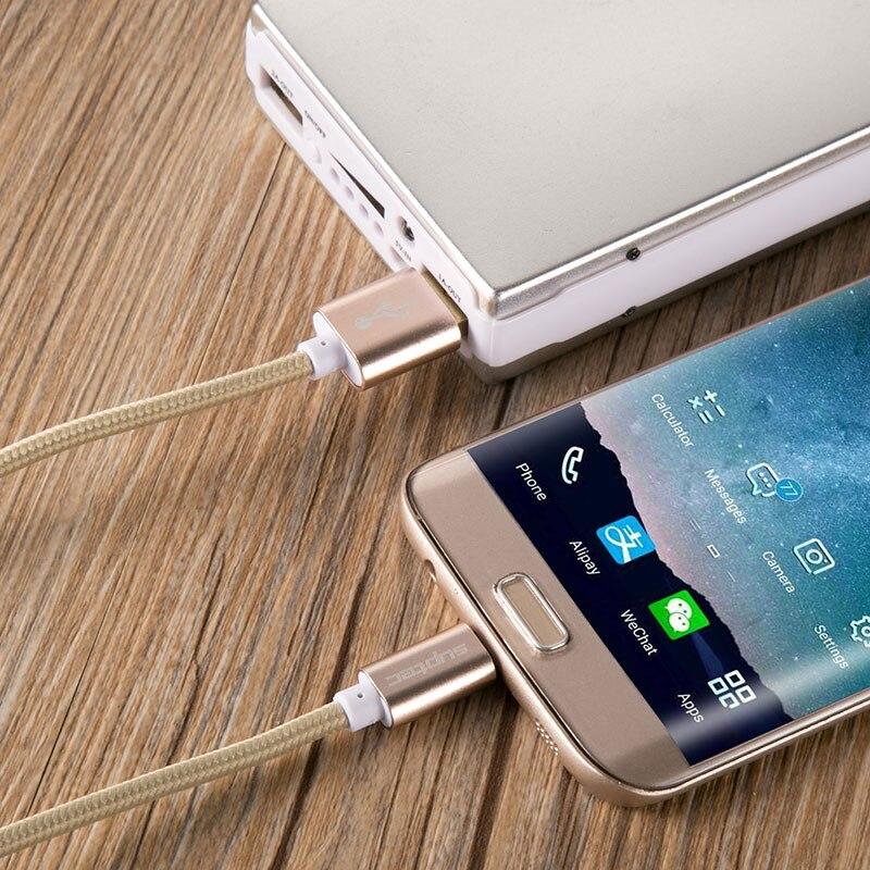 3 փաթեթ 25 սմ 1 մ 3 մ միկրո USB մալուխ արագ - Բջջային հեռախոսի պարագաներ և պահեստամասեր - Լուսանկար 6