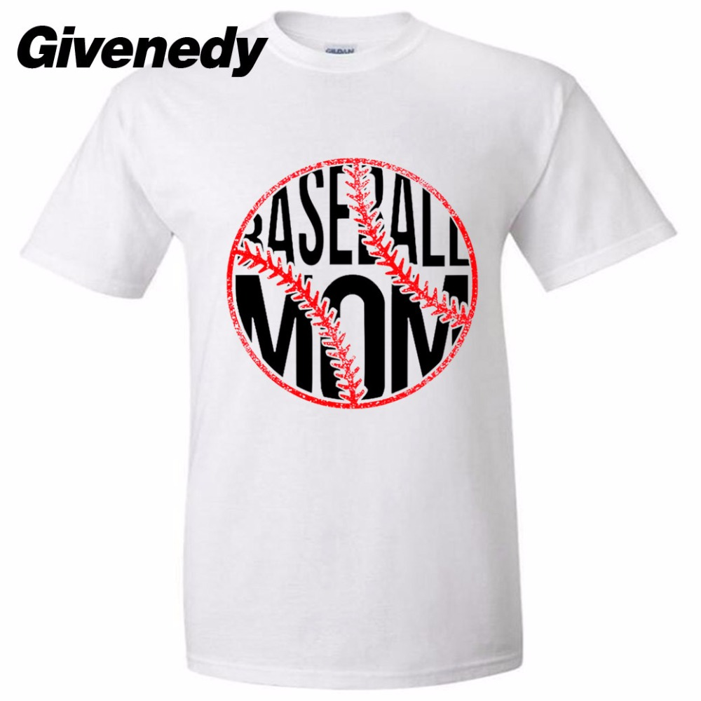Design t shirt baseball - Baseball Mom Mens Womens Personalized T Shirt Letter Printing T Shirt Design T Shirt
